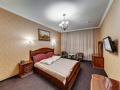 Номер стандарт с большой кроватью Отель Венеция, номер 3