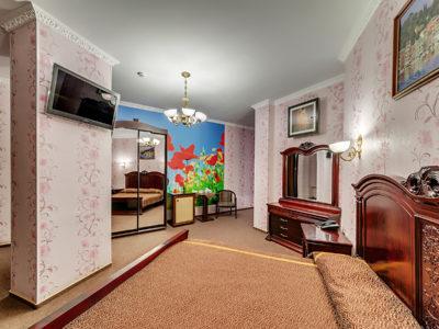 Люкс с большой кроватью Отель Венеция, номер 16