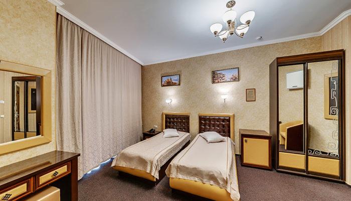 Номер полулюкс с раздельными кроватями Отель Венеция, номер 2