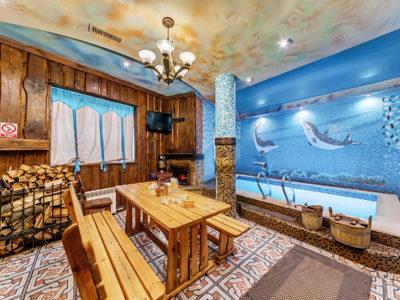 Русская баня SPA массажОтель Венеция, русская баня