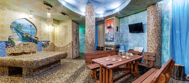 Турецкая баня хаммам SPA массаж Отель Венеция, хаммам